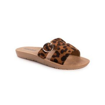 Muk Luks Women's About You Slip-On Flat Sandals Women's Shoes