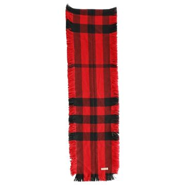 Burberry Red Wool Scarves