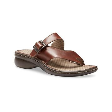 Eastland Women's Sandals CHESTNUT - Chestnut Townsend Opanka Leather Sandal - Women