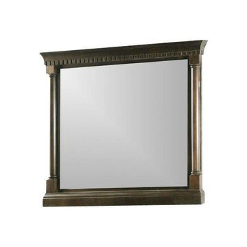 Legion Furniture Chauncey Mirror, Antique Coffee, 48