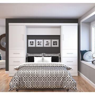 Bestar Nebula 109-inch Full-sized Wall Bed Kit