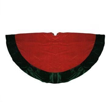 Northlight 60-in. Velveteen Christmas Tree Skirt
