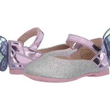 Sophia Webster Chiara (Toddler/Little Kid) (Silver Glitter/Multi Pastel) Women's Shoes