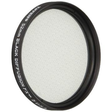 Tiffen 52BDFX5 52mm Black Diffusion 5 Filter
