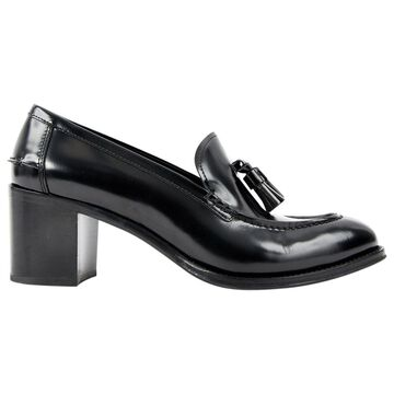 Church's Black Leather Heels