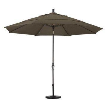 California Umbrella 11' Patio Umbrella in Cocoa