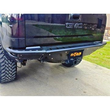 N-Fab RBS-H Rear Bumper 14-17 Chevy-GMC 1500 - Gloss Black
