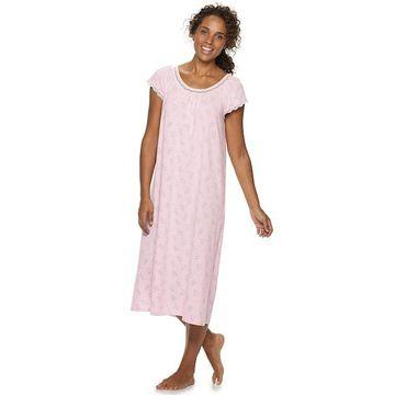 Petite Croft & Barrow Long Raglan Nightgown
