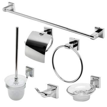 ALFI brand Brass Bath Accessory Set | AB9509-PC