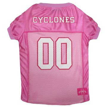 Pets First Iowa State Cyclones Pink Jersey, Large