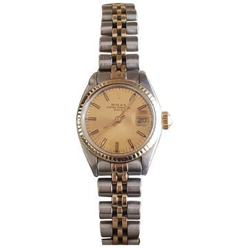 Rolex Lady Oyster Perpetual 24mm Gold gold and steel Watches