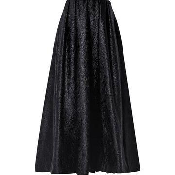 Simone Rocha - Strapless Cloque Midi Dress - Black