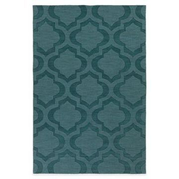 Artistic Weavers Central Park Kate 5-Foot x 7-Foot 6-Inch Area Rug in Teal