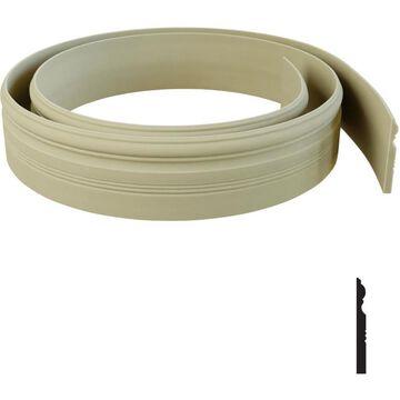 Ekena Millwork 4.25-in x 12-ft Resin Door Casing Kit in Off-White