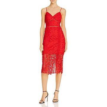 Bardot Roxy Lace Midi Dress