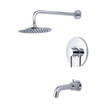 Single Handle Tub and Shower Trim Set-4MT115T