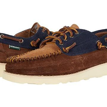 Sebago Cayuga (Blue Navy/Cognac) Men's Shoes