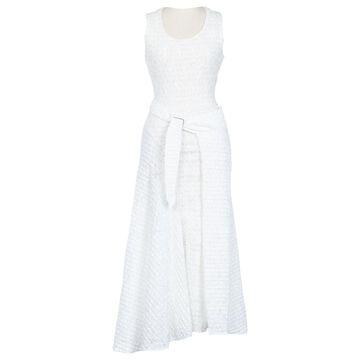 Victoria Beckham White Viscose Dresses