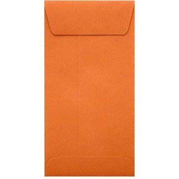 #7 Coin Envelopes (3 1/2 x 6 1/2) - Mandarin (1000 Qty.)