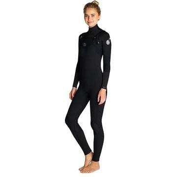 Rip Curl Flash Bomb 3/2 Chest-Zip Full Wetsuit - Women's