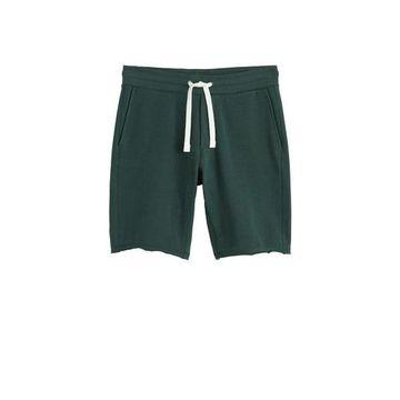 MANGO MAN - Jogger cotton bermuda short green - XS - Men