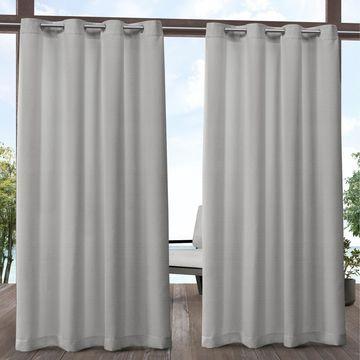 ATI Home Aztec Indoor/Outdoor Grommet Top Curtain Panel Pair