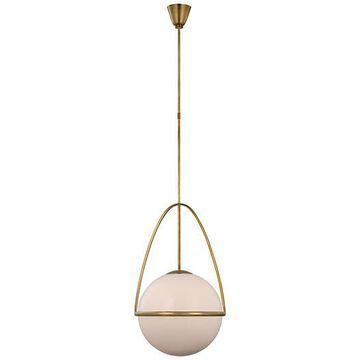 Lisette Globe Pendant - AERIN - Antique Brass
