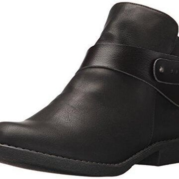 Blowfish Women's Adah Ankle Bootie, Black Lonestar/Dyecut PU, 6 M US