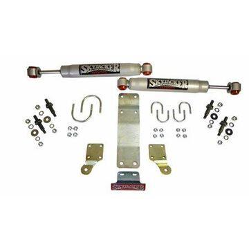 Skyjacker Dual Steering Damper Kit w/ 9000 Series 2007-2017 Jeep Wrangler (JK/JKU) (Use w/ JK717TR)