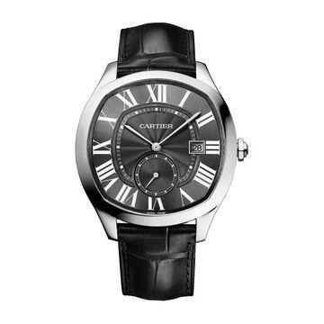 Cartier Men's WSNM0009 'Drive De Cartier' Black Leather Watch