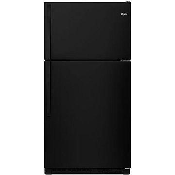Whirlpool Black Top-Freezer Refrigerator