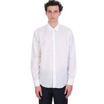 Lanvin Shirt In White Cotton