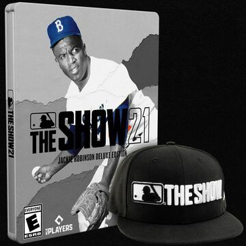 MLB The Show 21 Jackie Robinson Deluxe Edition - PlayStation 4 Sony GameStop
