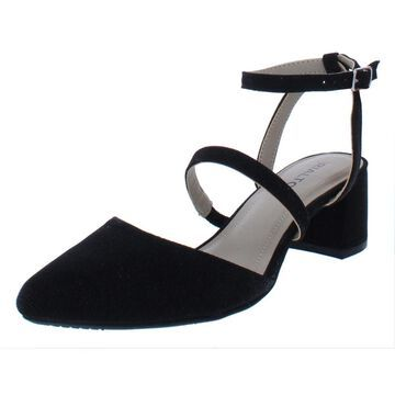 Rialto Womens Marigold Metallic Evening Dress Sandals