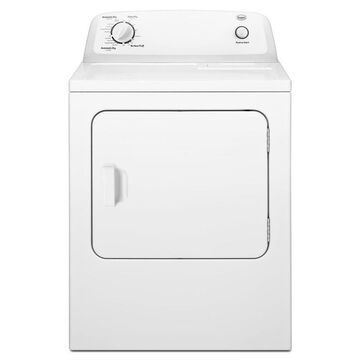 Roper 6.5-cu ft Vented Electric Dryer with Automatic Dryness Control - White