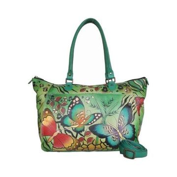 ANNA by Anuschka Women's Hand Painted Large Tote 8066