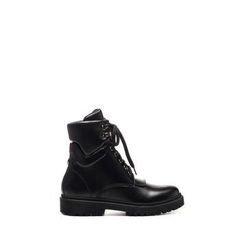 Moncler Moncler Patty Combat Black Boots