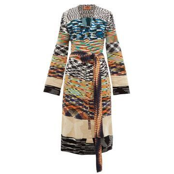 Missoni - Block-stripe Cardigan - Womens - Multi