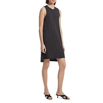 Atm Anthony Thomas Melillo Striped Jersey Dress