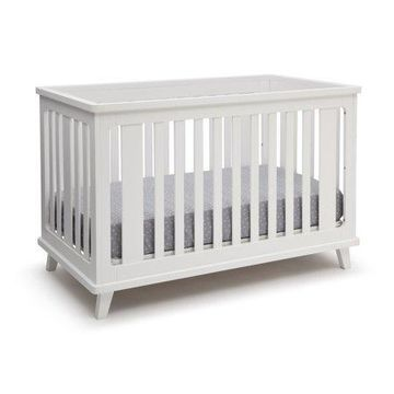 Delta Children Ava 3-in-1 Convertible Crib, White