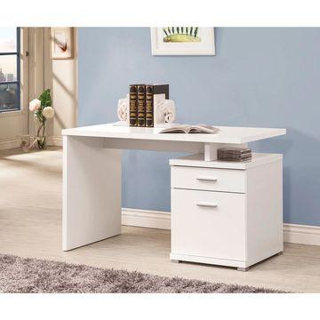 Coaster Company Contemporary Desk With Cabinet