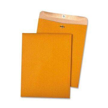 Quality Park, Recycled Chlorine Free Clasp Envelopes, 100 / Box, Kraft
