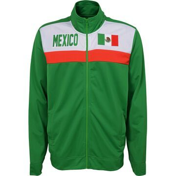 Outerstuff Youth Mexico Green Track Jacket