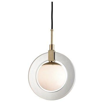 Hudson Valley Caswell LED Pendant 5112-AGB
