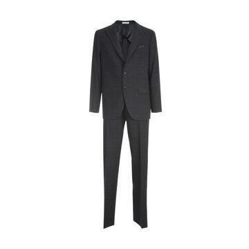 Boglioli Prince Of Wales Check Suit