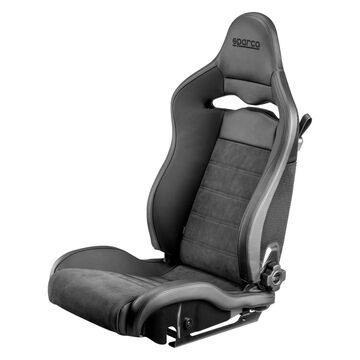 00974ZNRSX SPX Series Street Racing Seat & Driver Side, Black