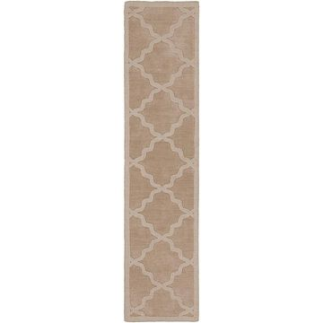 Artistic Weavers Central Park Abbey 2'3 X 8' Handcrafted Runner In Tan