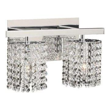 PLC Lighting 72192PC 2-Light Vanity Rigga Collection