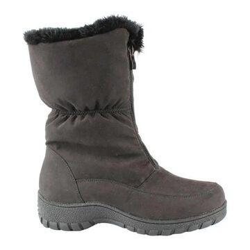 Wanderlust Women's Rubacca Winter Boot Black Waterproof Micro Fabric