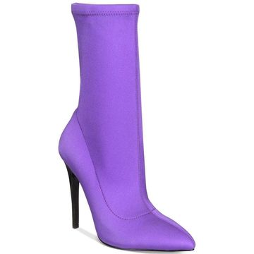 Call It Spring Womens Hailassi Pointed Toe Mid-Calf Fashion Boots